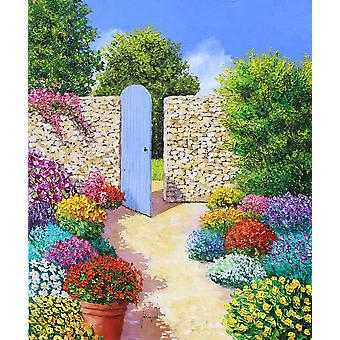 Secret garden Poster Print by Jean-Marc Janiaczyk