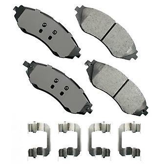 ProACT ACT1035 Akebono ProACT Ultra Premium Ceramic Disc Brake Pad Kit
