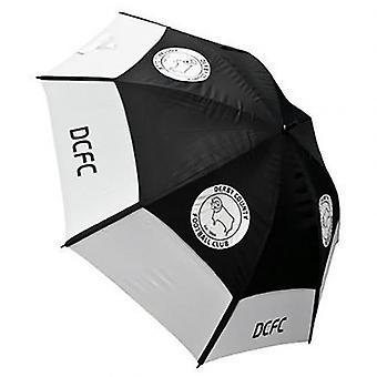 Derby County Golf guarda-chuva duplo dossel