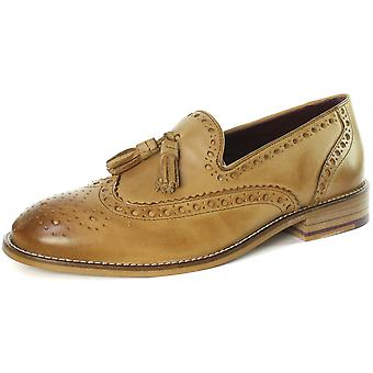 London Brogues Louis Mens Tassel Brogue Loafer Shoes  AND COLOURS