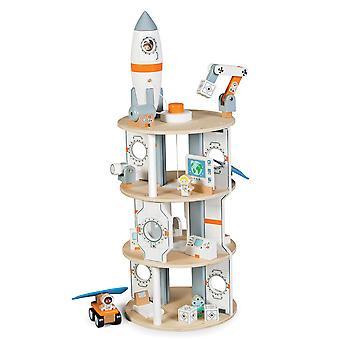 Tidlo Holz Raumstation Play Zubehör-Set lernen spielen Rollenspiel