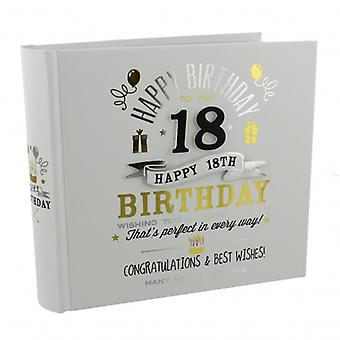Signography 18th Birthday Gift Photo Album