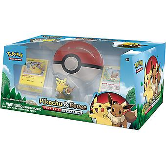 Pokémon Pikachu et Evoli Poké Ball Collection