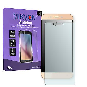 Accent Speed Y2 (2017) Screen Protector - Mikvon AntiSun (Retail Package with accessories)