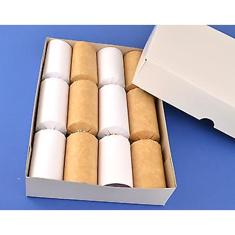 Basic White A4 Box & Lid - Perfect for Homemade Crackers | Cardboard Gift Boxes