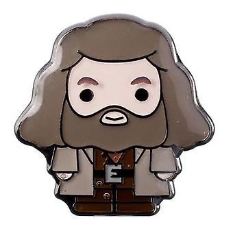 Harry Potter Badge Chibi Hagrid