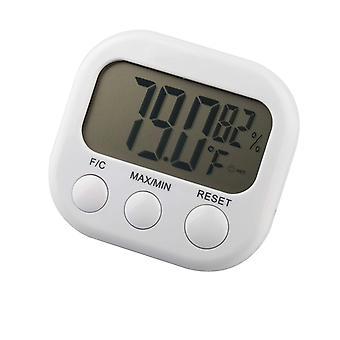 TRIXES Termómetro Digital LCD temperatura tiempo higrómetro humedad humedad