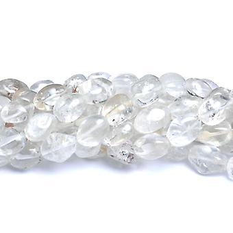 Strand 22 + jasny kryształ OK. 10-16mm gładkie Nugget koraliki CB37645-1