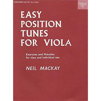 Easy Position Tunes for Viola by Neil Mackay - 9780193576513 Book