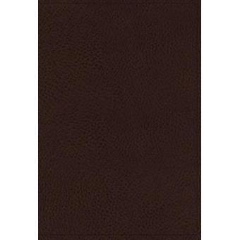 NKJV - Minister's Bible - Imitation Leather - Brown - Comfort Print b