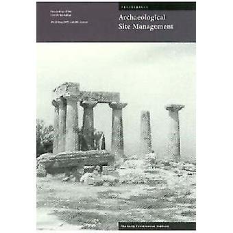 Arkeologiska platsen förvaltning planering av Gaetano Palumbo - Jeanne M