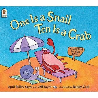 Man er en snegl - ti er en krabbe af April Pulley Sayre - Jeff Sayre - Rasmussen