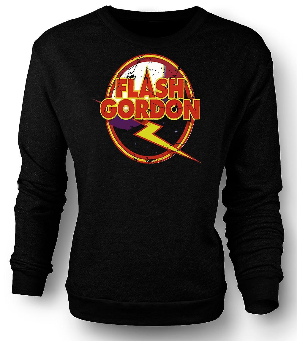 Mens Sweatshirt Flash Gordon Logo - Sci-Fi
