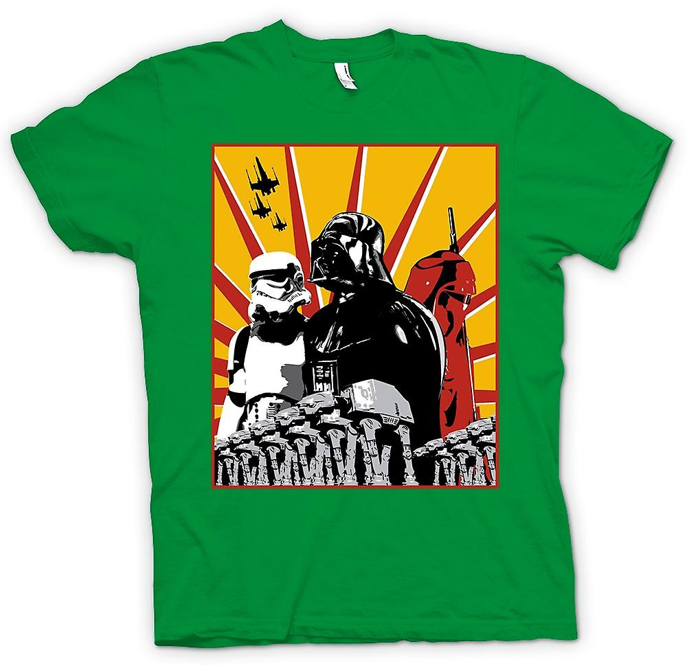 T-shirt des hommes - Star Wars - Darth Vader et Storm Tropper