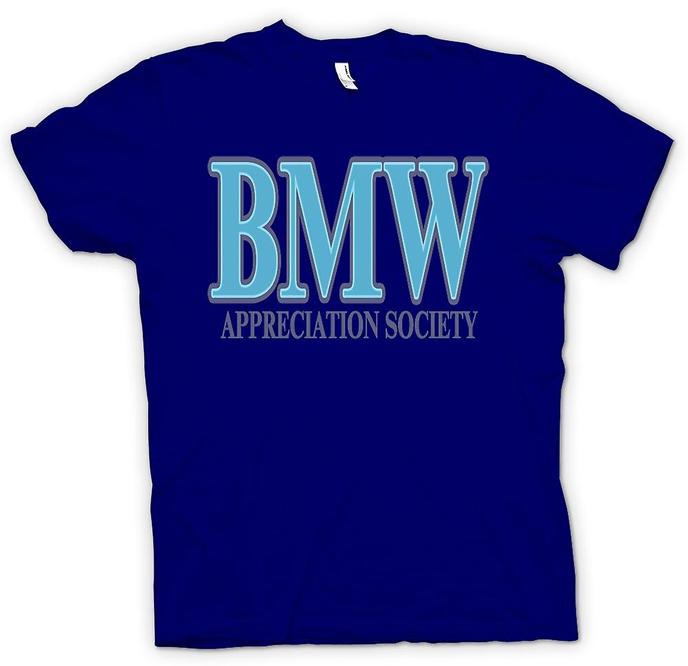 Mens t-skjorte-BMW Appreciation Society