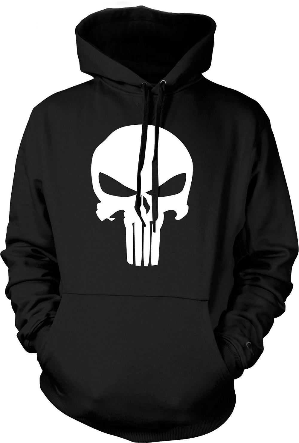 Mens Hoodie - The Punisher Logo - Vigilante