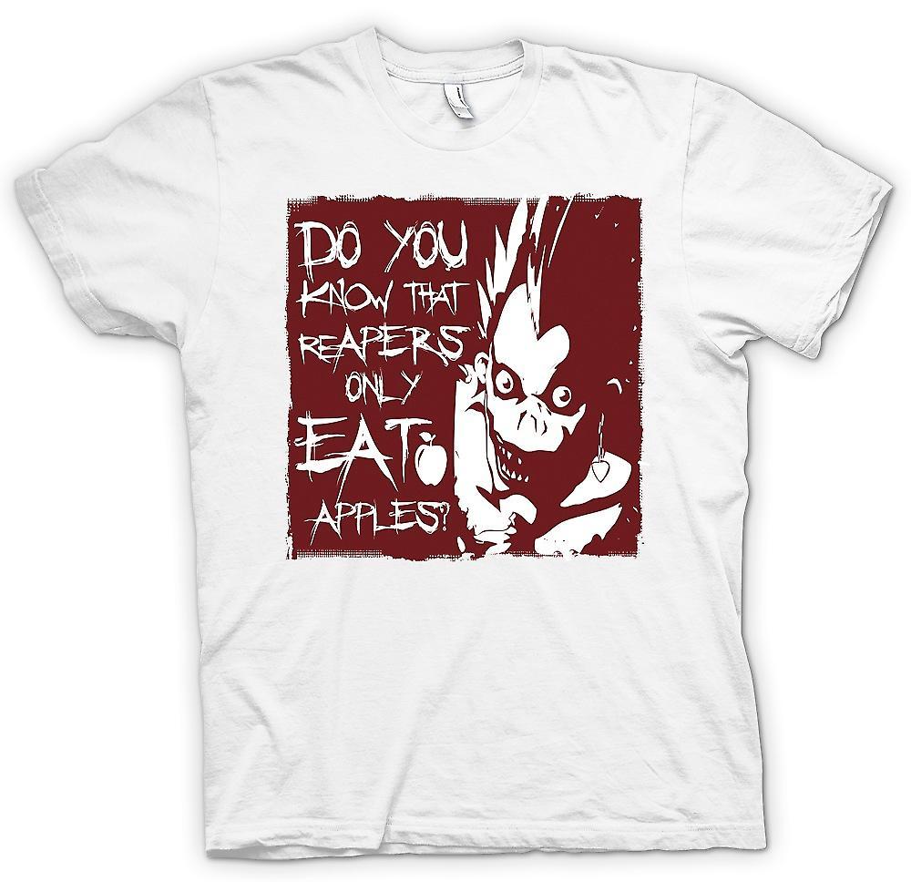 Mens t-skjorte - vet du at høstfolkene bare spise epler