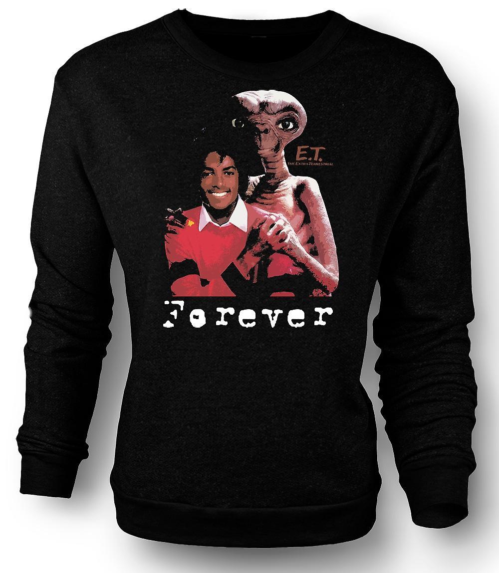 Mens Sweatshirt Et Michael Jackson - Forever Alien