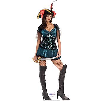 High Sea Pirate Babe - Lifesize Cardboard Cutout / Standee