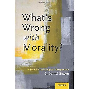 Was ist falsch mit Moral?: eine sozial-psychologische Perspektive