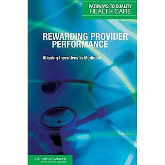 Recompensar el rendimiento proveedor: Alineación de incentivos Medicare (caminos hacia la salud)