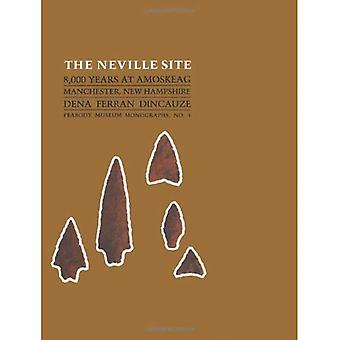Neville witryny: 8000 lat w Amoskeag, Manchester, New Hampshire (monografie Peabody Museum)