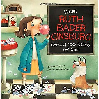 When Ruth Bader Ginsburg Chewed 100 Sticks of Gum (Leaders Doing Headstands)