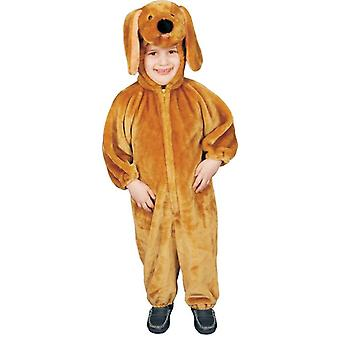 Plush Puppy Toddler Costume