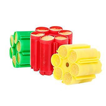 36 cartuchos para pistola de confeti con seis rondas