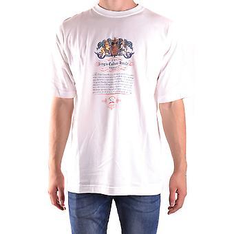 Paul & Shark White Cotton T-shirt