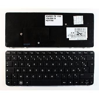 HP Mini 110-3521LA Black French Layout Replacement Laptop Keyboard