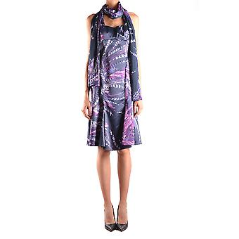 Just Cavalli Multicolor Polyester Dress