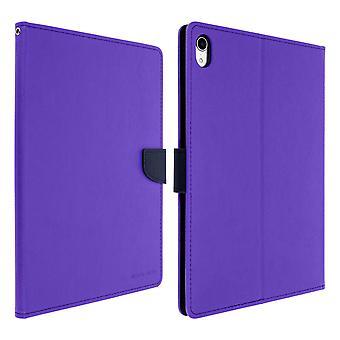 Étui pour iPad Pro 11 Folio Case porte-cartes de soutien fonction Mercury - violet