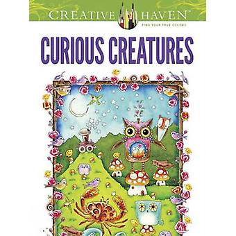Creative Haven Curious Creatures Coloring Book by Amy Weber - Creativ