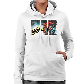 Flash Gordon Action Pose Women's Hooded Sweatshirt