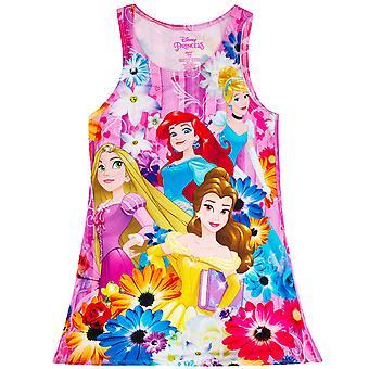 Vestido rosa do Disney Princesas juventude garota