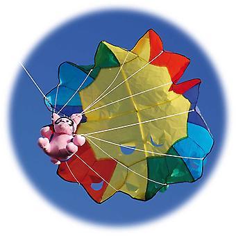 Кайт Свиньи парашютом