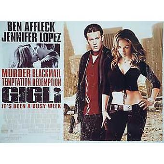 Gigli Original Cinema Poster