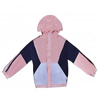 Hugo Boss Girls Hugo Boss Girl's Chaqueta Cortavientos Rosa