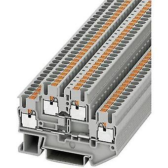 Phoenix Contact 3210567 PITTB 2.5 Push-In Double Level Terminal PITTB Grey