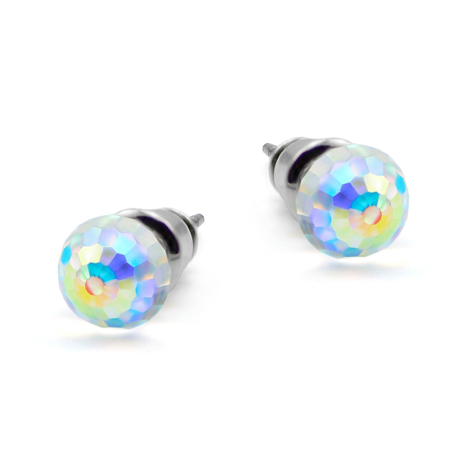 Aurora crystal oorbellen EMB12.6