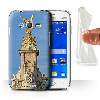 STUFF4 Gel/TPU Case/Cover voor de Samsung Galaxy Trend Neo/G313/Victoria Memorial/attracties in Londen