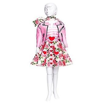 Dress Your Doll Lucy Roses (Toys , Educative And Creative , Design And Mode , Mode)