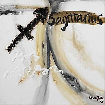 Impresión de Poster de Sagitario por die arte Zakko