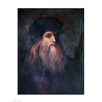 Self Portrait Poster Print by Leonardo Da Vinci (18 x 24)
