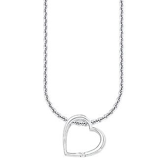 s.Oliver jewel ladies necklace-silver Zyrkonia heart SO1234/1 - 524711