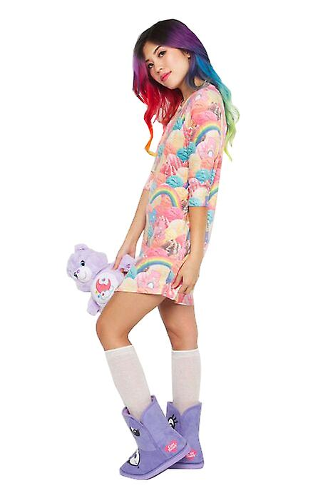 Iron Fist Womens Scoops A Lot Raglan Dress Care Bears Multicolour Kawaii Cute
