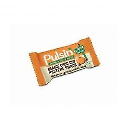 Pulsin - Orange Choc Chip Protein Snack 50g X 18