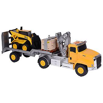 CAT Trailer With Bulldozer L & S 58 Cm