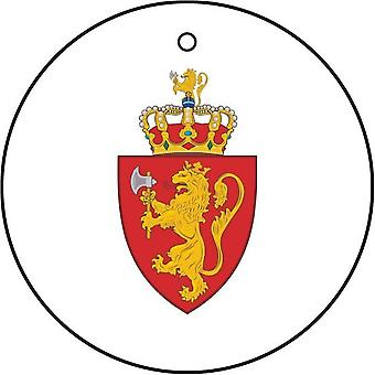 Norway Coat Of Arms Car Air Freshener